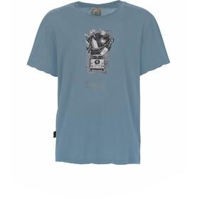 E9 Lez Camiseta Hombre, gris